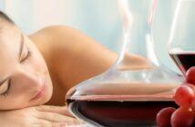 Wein und Wellness