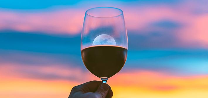 Die Vollmond-Weinprobe aus Rheinhessen