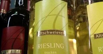 Altschweierer Sternenberg Riesling trocken 2012, Ortenauer Weinkellerei OWK bei Edeka