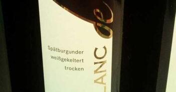 Pinot noir Blanc de Noir trocken 2011, Ortenauer Weinkellerei OWK bei Edeka