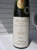 Gau Bischofsheimer Kellersberg 2008, Ortega, Qualitätsstufe Trockenbeerenauslese