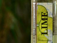 Der White Blossom in der Geschmackrichtung Lime verspricht schon von außen ein fruchtiges Geschmackserlebnis.