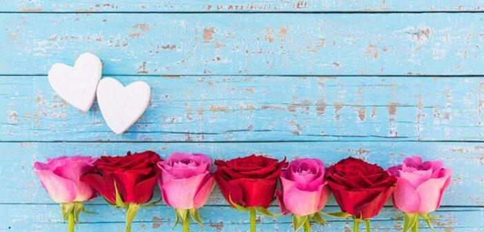 Rosen sind das absolute Muss am Jahrestag