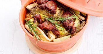Rezepte für den Römertopf, einfach und trotzdem lecker.