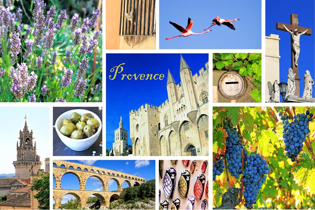 Nicht nur wegen dem berühmten und erstklassigen Wein ist die Provence eine Reise wert. Hier kann man ebensogut lecker Essen und auch das Sightseeing macht Spaß. (#5)