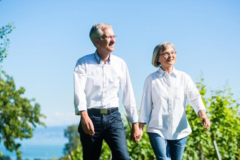 Auch abseits des Weintourismus-Symposium kann man viel entdecken. Wie wäre eine Wanderung durch die Weinberge? Der Weg in das Hotel in Iphofen führt Besucher heute daher durch mehr als 6.000 Weinberge. (#2)