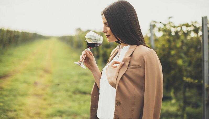 Viele Weine aus den USA besitzen einen sehr hohen Gehalt an Alkohol. (#05)
