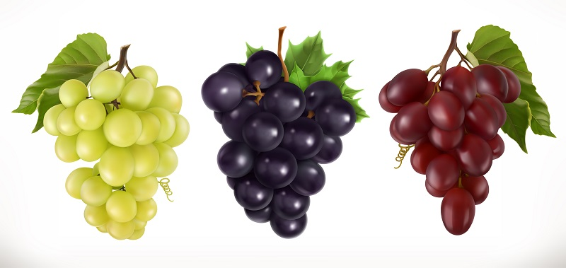 Bei der Weinsäure handelt es sich um eine sogenannte Genusssäure, die vor allem in Weintrauben zu finden ist.  ( Foto: Shutterstock- _Natykach Nataliia)